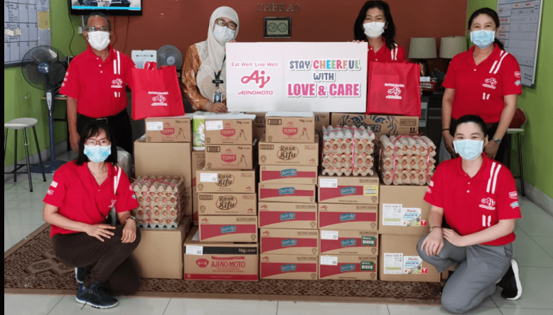 Ajinomoto Group Malaysian affiliate continues spread love & care through donation to community