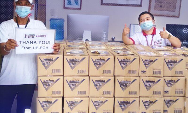 Ajinomoto Philippines Corporation Supports Frontliners with aminoVITAL®