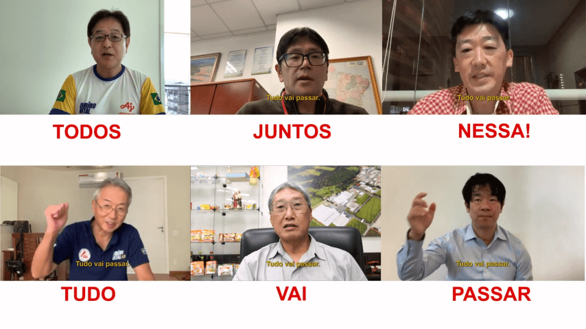 Message from top management of Ajinomoto Brazil