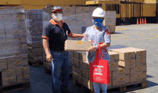 Ajinomoto Group Peruvian affiliate donates food to families affected by COVID -19