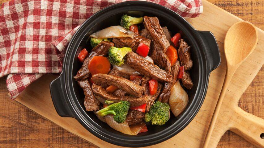 Beef & Veggie-Stir-Fry