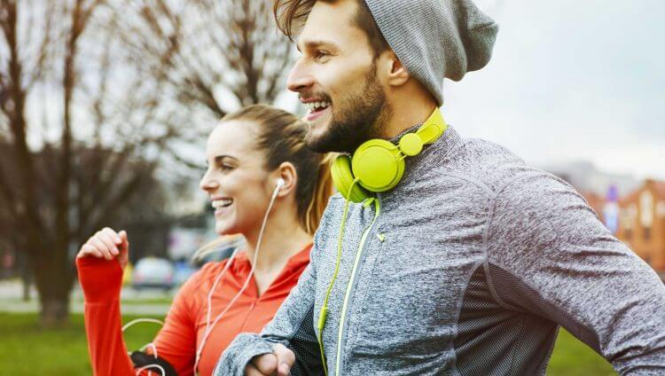 Courir pour le fitness