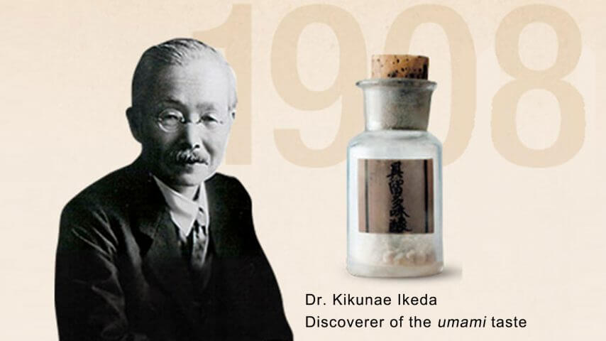 Dr. Kikunae Ikeda Discoverer Of the Umami Taste