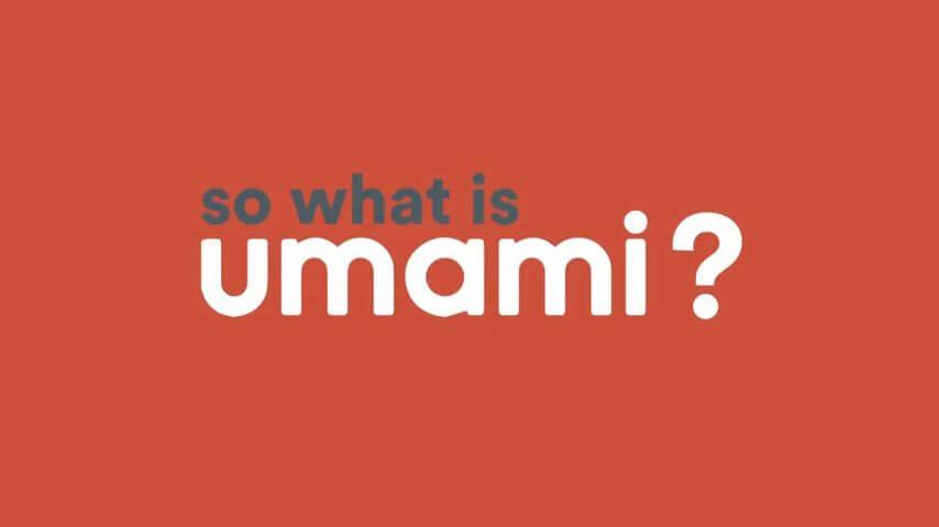 Umami là gì