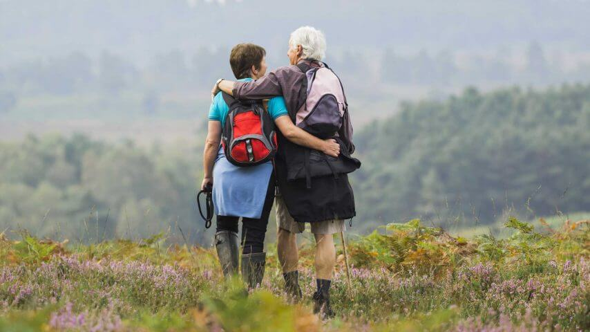 Tracking By Old Couple