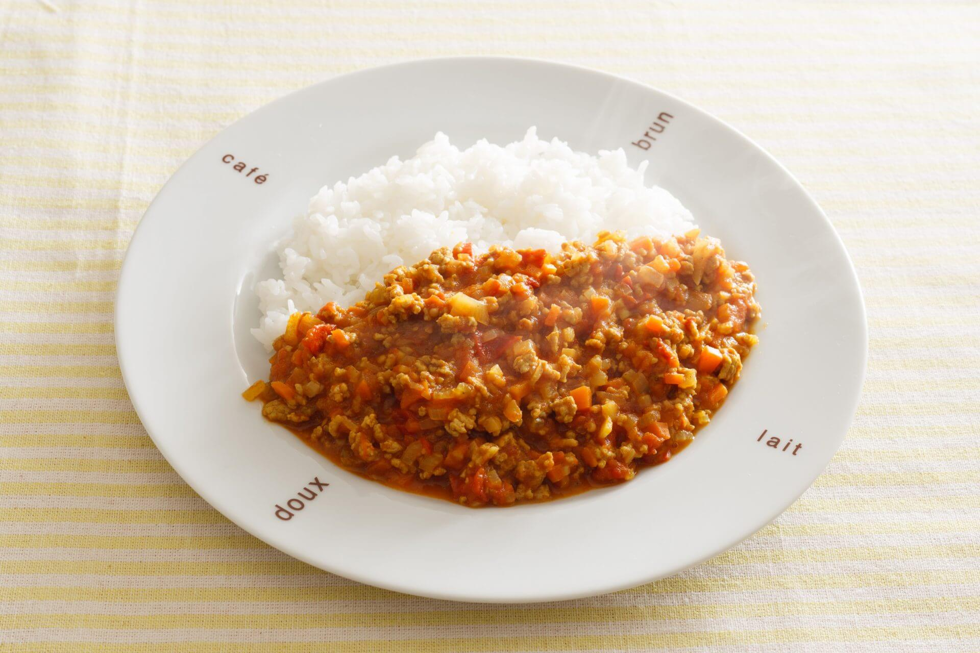 Umami-rich Japanese Dry Curry and Rice
