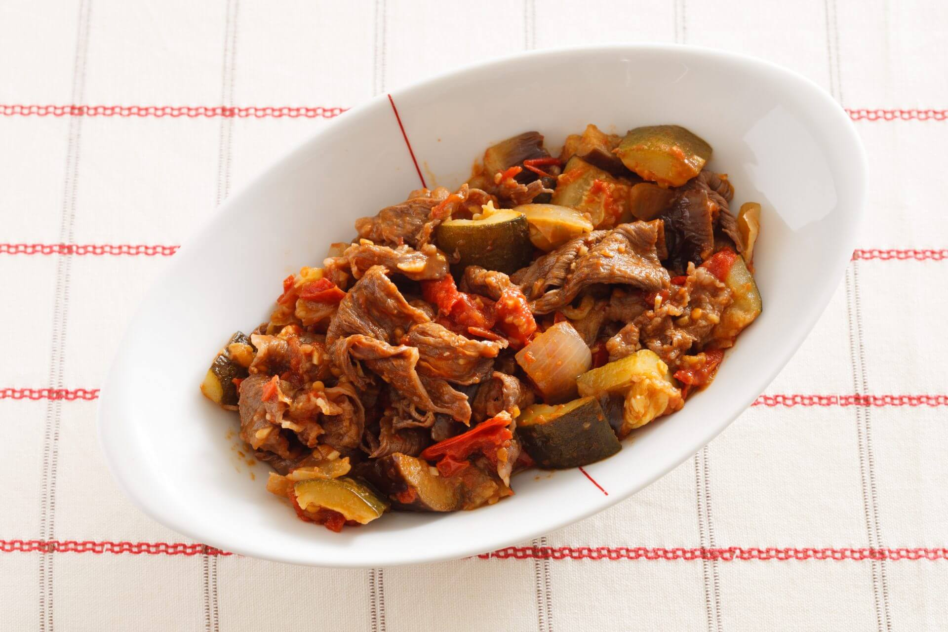 Umami-rich Beef Ratatouille