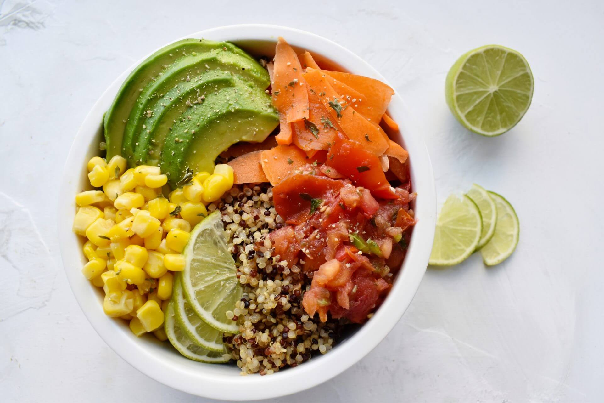 Simple Savory Quinoa Bowl