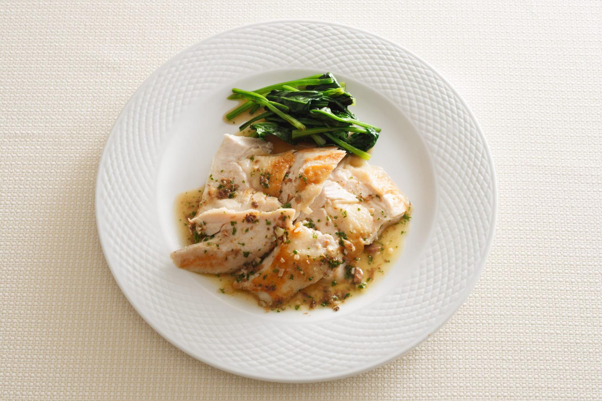 Anchovy Butter Chicken with Umami