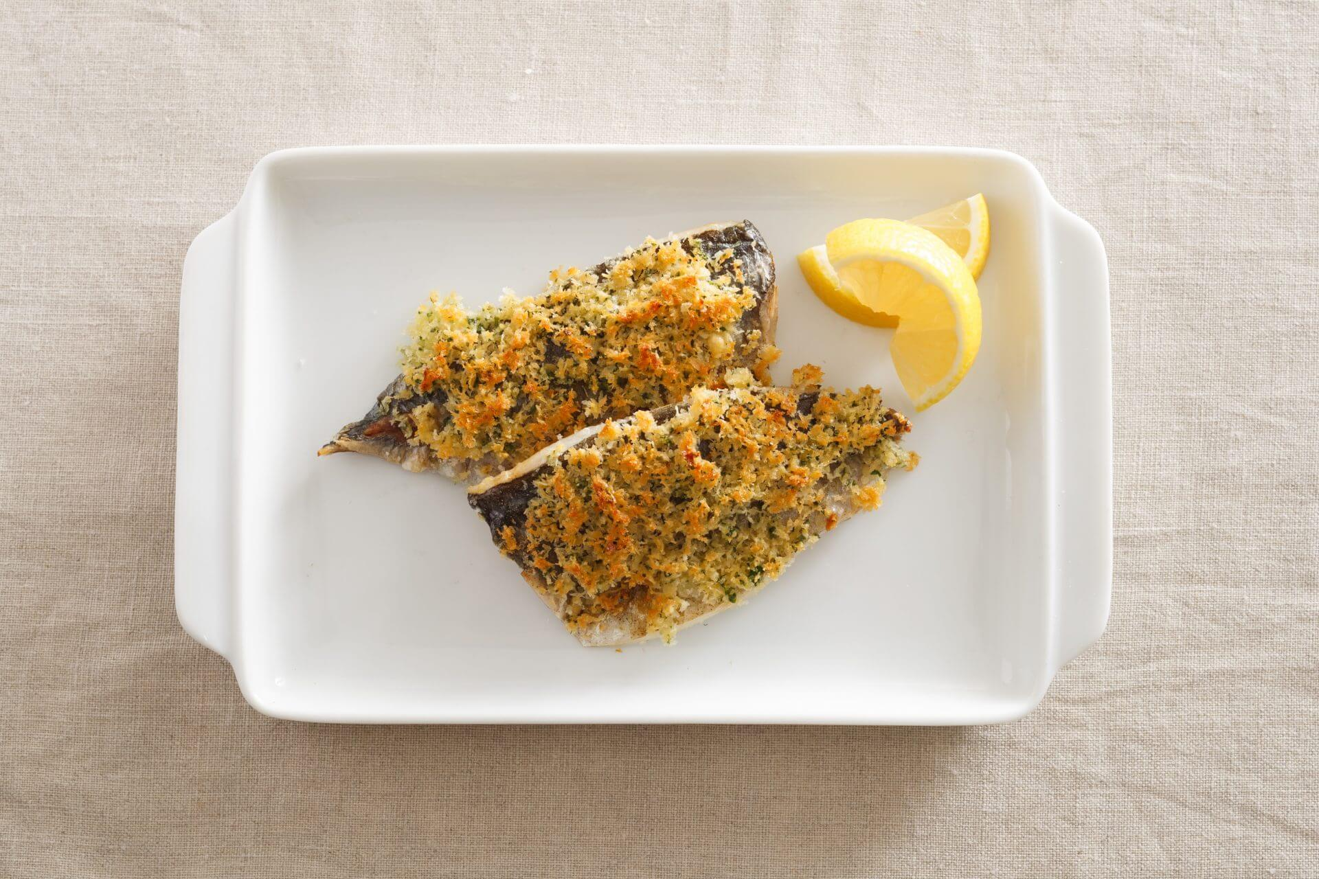 Grilled Horse Mackerel with Cheese