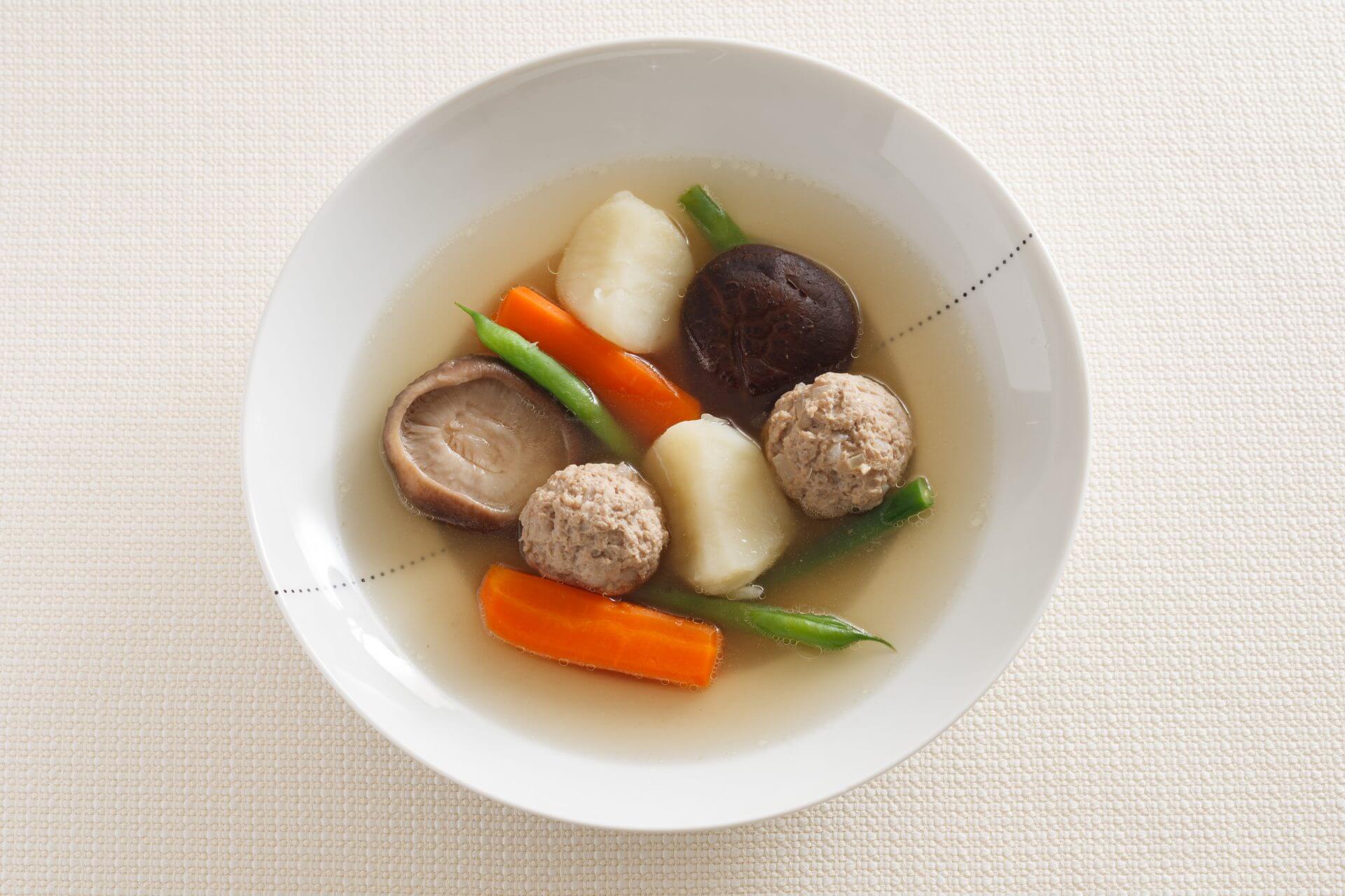Meatball Pot-au feu with Umami