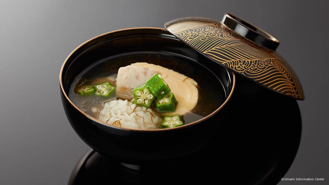 Hamo Eel Noppei-jiru (Conger Pike Umami Dashi Soup)