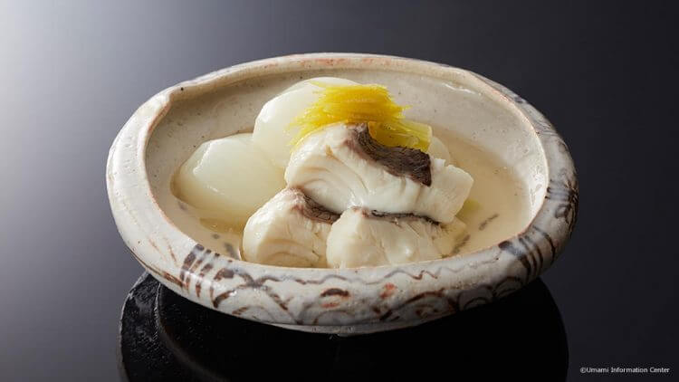 Simmered Sea Bream with Umami
